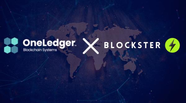 Blockster oneledger partnership